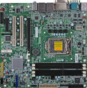 Новая micro ATX плата от компании DFI