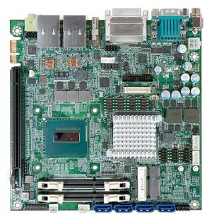 Процессорная плата формата Mini-ITX от компании Portwell - WADE-8022.