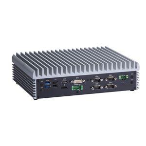 Высокопроизводительный встраиваемый компьютер eBOX671-885-FL с 4-мя портами PoE